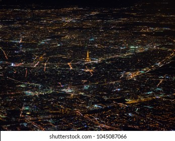 Paris view from the sky.