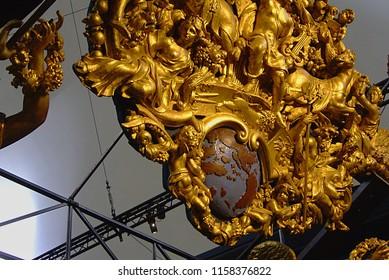 Paris/France-18.07.2012: National Navy Museum - is a maritime museum, in the 16th arrondissement of Paris.
