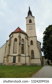 The parish church of holy John the Baptist Ljutomer Slovenia