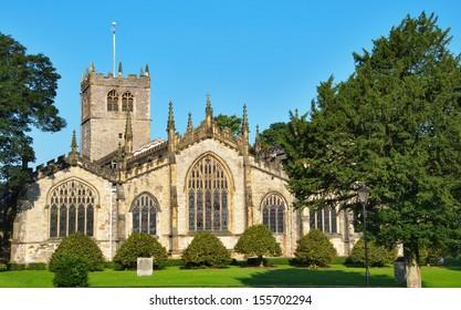 Parish Church in Kendal, Cumbria.