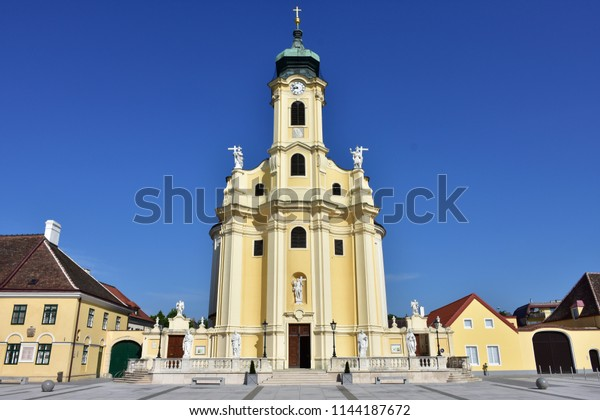 parish church in Laxenburg,Austria