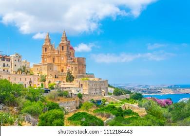 Parish Church of Mellieha, Malta