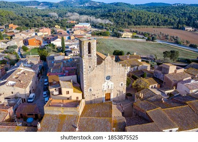 Parish church of San Gines de Torroella de Montgri, Girona Spain