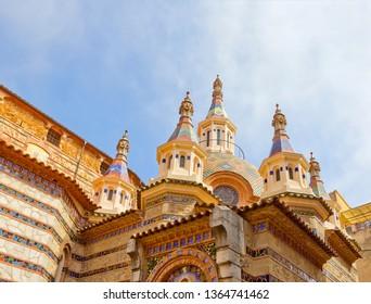 Parish church of Sant Roma in Lloret De Mar, Spain