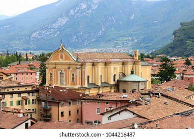 Parish Church of Santa Maria Assunta in Riva del Garda, Italy