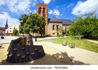 Parish church St. Katharinen, Schwedt/Oder, Brandenburg, Germany