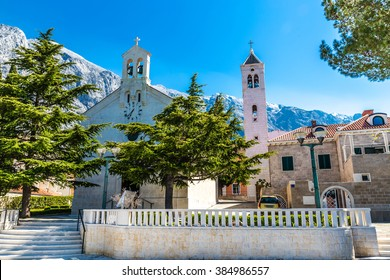 The Parish Church of St. Nikola (Nicholas) - Baska Voda, Makarska, Dalmatia, Croatia