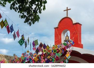 Parish Of Guadalupe Church in Sayulita Mexico.
