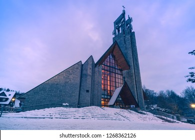Parish of the Holy Cross in Zakopane. Zakopane, Lesser Poland, Poland.