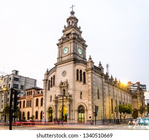 The parish of Our Lady of Pilar is the hallmark of San Isidro in Lima - Peru