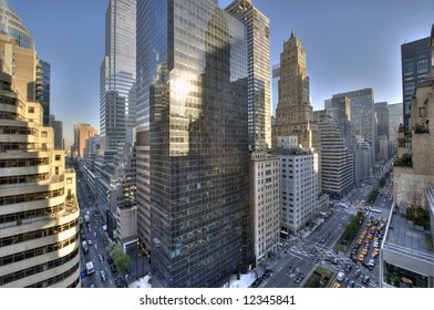 Park avenue,Manhattan midtown,New York city,United states of America