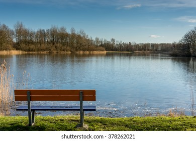 A park bench with it's view