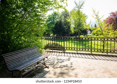 Park bench, weather permitting