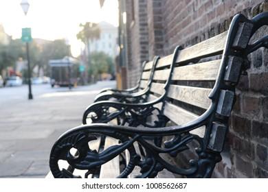 Park Benches Scene