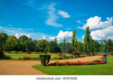 park in Budapest on the Margaret Island Hungary