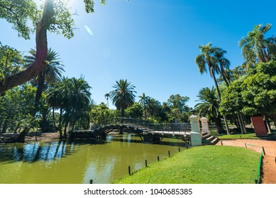 park in Buenos Aires, Argentina