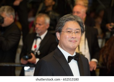 Park Chan-wook attends In The Fade, Aus Dem Nichts premiere at the 70th Festival de Cannes.