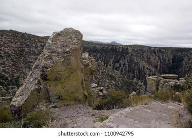 The park of Chiricahua. Arizona -  United States