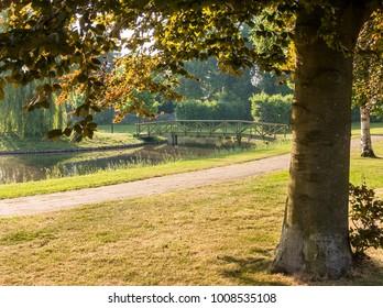 Park in the city of Nijkerk