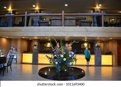 PARK CITY, UT - AUG 26: Westgate Park City Resort & Spa in Utah, on Aug 26, 2017. It is a year-round resort located on the Eastern side of the Wasatch Mountains, part of the Rocky Mountain Range.