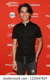 PARK CITY, UT - JAN 22: Actor Forrest Goodluck attends 'The Miseducation of Cameron Post' premiere at the 2018 Sundance Film Festival at Eccles Theater on January 22, 2018 in Park City, Utah.