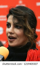 PARK CITY, UT - JANUARY 23: Actress  Priyanka Chopra attends the 'A Kid Like Jake' premiere during the 2018 Sundance Film Festival at Eccles Theatre on January 23, 2018 in Park City, Utah.