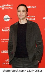 PARK CITY, UT - JANUARY 23: Actor Jim Parsons attends the 'A Kid Like Jake' premiere during the 2018 Sundance Film Festival at Eccles Theatre on January 23, 2018 in Park City, Utah.