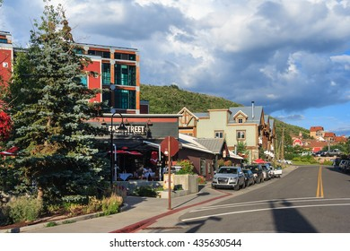 Park City, UT/USA - circa August 2011: Park City is a city in Summit County, Utah