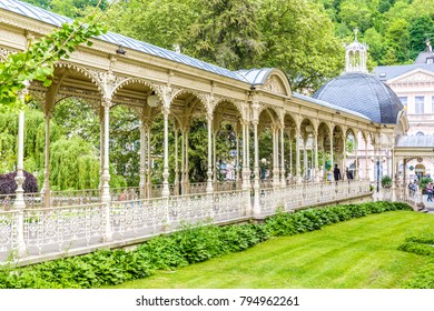 Park Colonnade Sadova - Karlovy Vary, Czech Republic, Europe