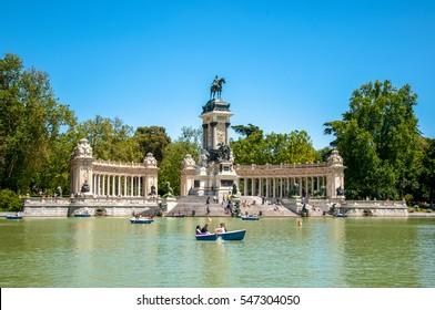 Park del Retiro, Madrid, Spain