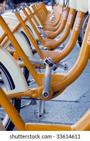 A park for ecological city bike sharing