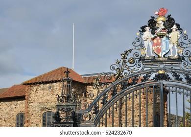 Park Entrance Gates Colchester