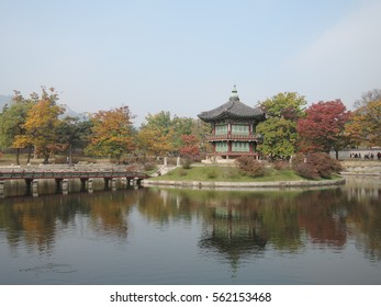 A park with foliage