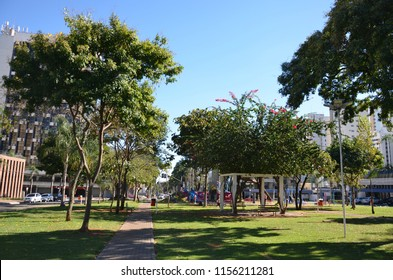 Park in Goiania Goias Brazil