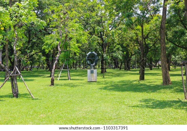 The park with green Color