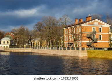 "Park island ""New Holland"". St. Petersburg. Russia."