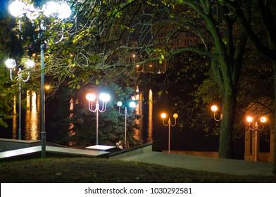 A park in Minsk