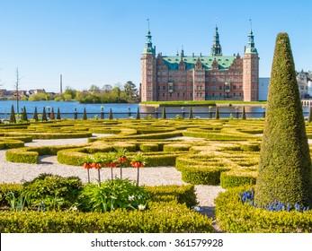 Park und Palace Frederiksborg Slot, Hillerod, Dänemark