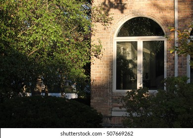 PARK RIDGE, IL -- The house where Hillary Rodham Clinton grew up, pictured October 23, 2016. The Rodham family was such a fixture of the neighborhood that the corner has been symbolically renamed.