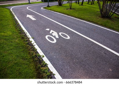 Park road for bike molding