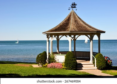 Park shelter in Niagara on the Lake, Ontario