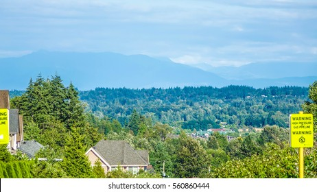 Park view in Surrey, Vancouver, BC, Canada