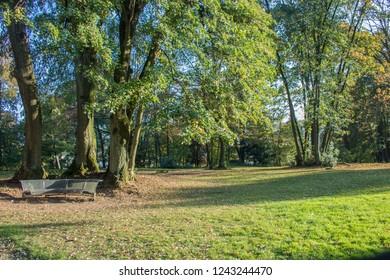 Park of Villa Berberich in Bad Säckingen, Germany