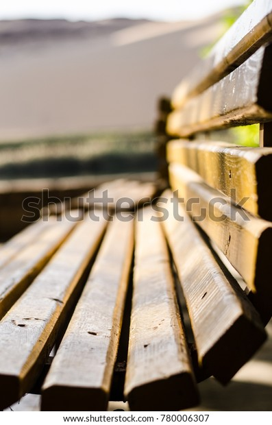 Swell Park Wooden Bench Outdoor Garden Bench Stock Photo Edit Now Gmtry Best Dining Table And Chair Ideas Images Gmtryco