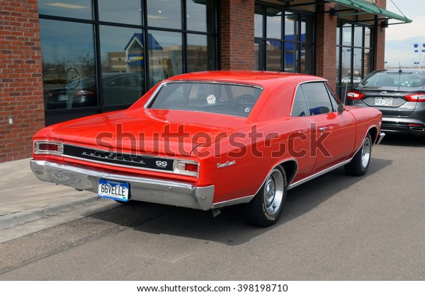 2016 Chevelle Ss >> Parker Colorado Usa March 12 2016 Stock Photo Edit Now