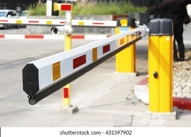 Parking barrier and CCTV access control for Security