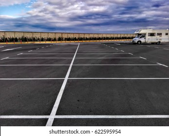 parking and camper