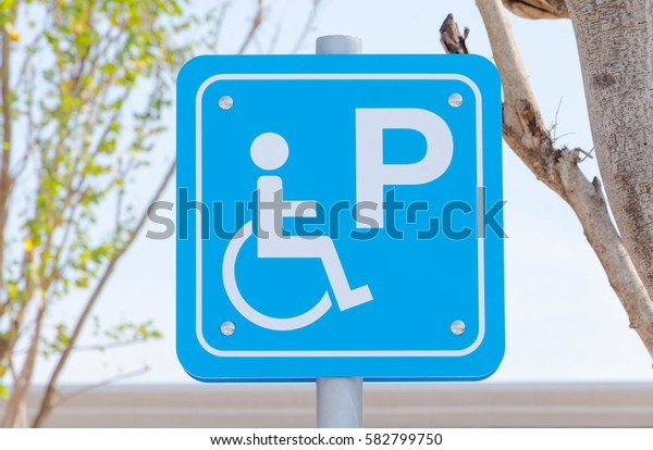 Parking for disabled badge