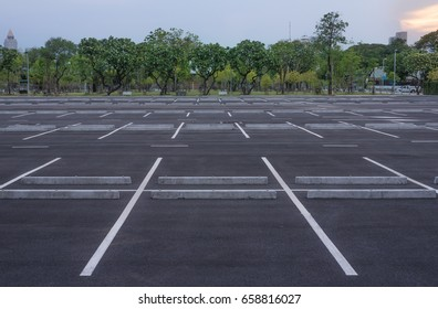 Parking in the evening
