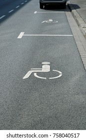 parking spaces for the disabled on street
